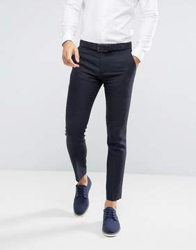 Farah Skinny Pants In Hopsack