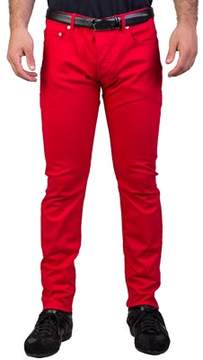 Christian Dior Men's Slim Fit Jeans Pants Red.