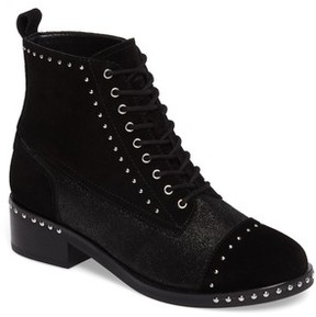 Marc Fisher Women's Cassidey Studded Cap Toe Bootie