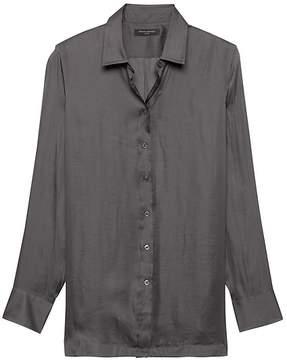 Banana Republic Parker Tunic-Fit Soft Shirt
