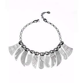 Azza Fahmy Sterling Silver Wings Necklace