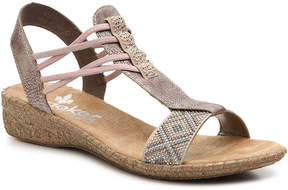 Rieker Women's Flora Wedge Sandal