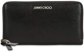 Jimmy Choo Pippa Leather Zip Around Wallet