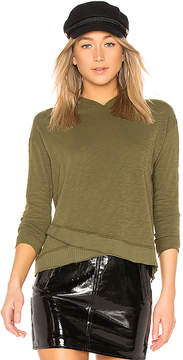 Bobi Slubbed Jersey Long Sleeve Top