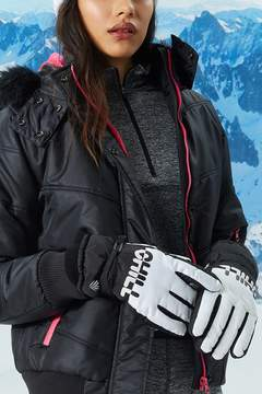 Forever 21 Active Chill Graphic Winter Gloves
