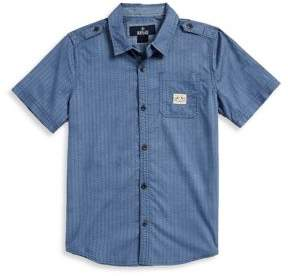 Buffalo David Bitton Boy's Patterned Sportshirt