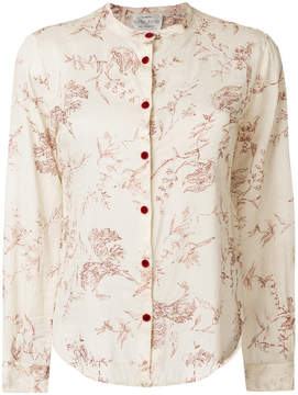 Forte Forte leaf patterned blouse