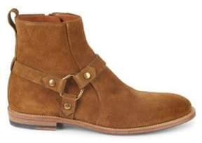 Bally Hofman Suede Ankle Boots