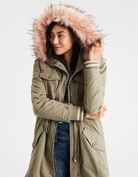 American Eagle Outfitters AE 2-in-1 Convertible Parka