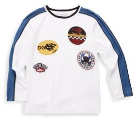 Dolce & Gabbana Toddler and Little Boy's Cotton Racing Patchwork Tee