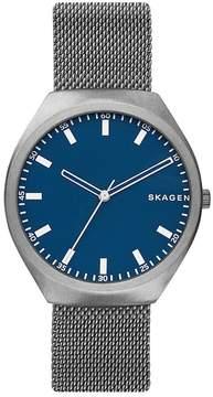 Skagen Greenen Titanium Mesh Strap Watch, 40mm