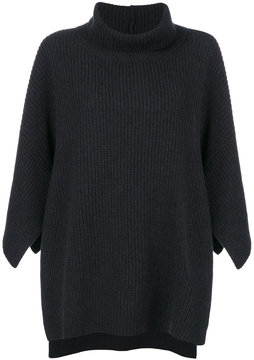 Fabiana Filippi oversized cape sweater