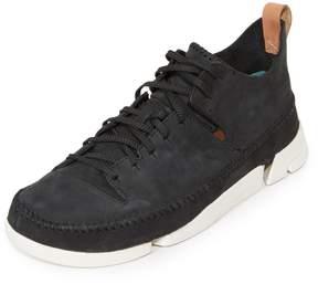 Clarks Nubuck Trigenic Flex Sneakers