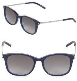Saint Laurent 54MM Wayfarer Sunglasses