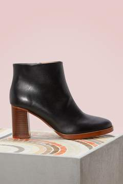A.P.C. Leather Vivianne boots
