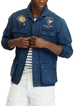 Polo Ralph Lauren Embroidered Classic Fit Button-Down Workshirt