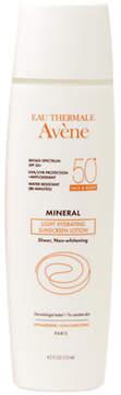 Avene Mineral Light Hydrating Sunscreen Lotion, Face & Body SPF 50+