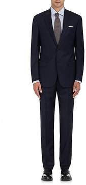 Giorgio Armani Men's Soft Striped Wool Two-Button Suit