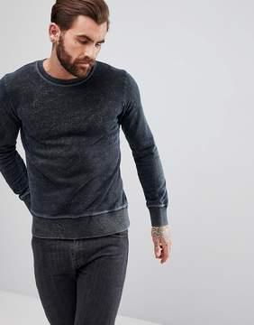 Nudie Jeans Sven Blackened Indigo Sweater