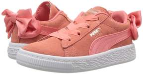 Puma Kids Suede Bow AC INF Girls Shoes