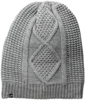 Plush Fleece-Lined Cable Knit Beanie Beanies