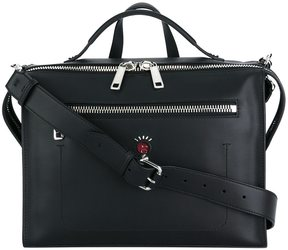 Fendi zip pocket messenger bag