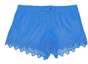 Seafolly Blue Shorts Children Tropical Splice Laser Boardie.