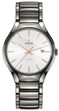 Rado Men's True Automatic Ceramic Bracelet Watch, 40Mm
