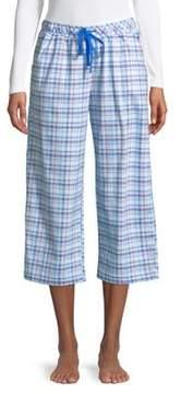 Karen Neuburger Plaid Capri Pajama Pants