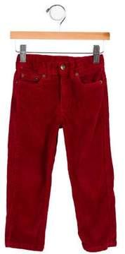 Oscar de la Renta Girls' Straight-Leg Corduroy Pants