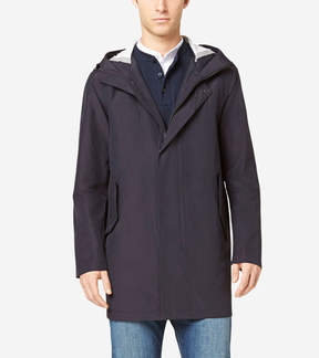 Cole Haan Seamsealed Hooded Topper Jacket