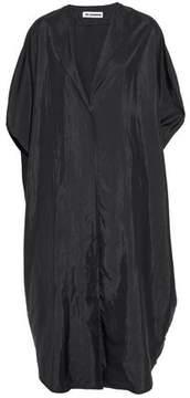 Jil Sander Draped Shell Midi Dress