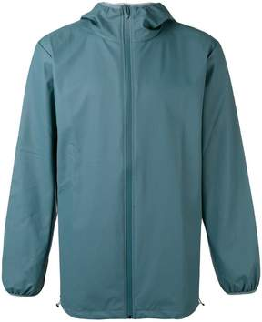 Rains hooded zip up jacket