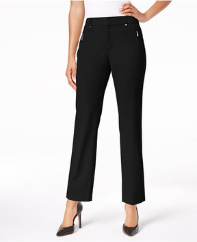 Charter Club Tummy-Control Ankle Pants, Created for Macy's