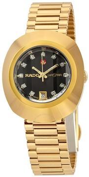 Rado Original Automatic Black Dial Ladies Watch