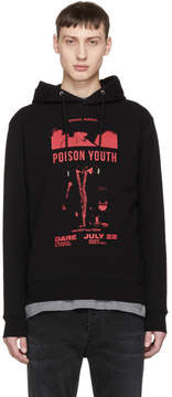 McQ Black Poison Youth Clean Hoodie