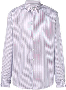 Salvatore Ferragamo striped button shirt