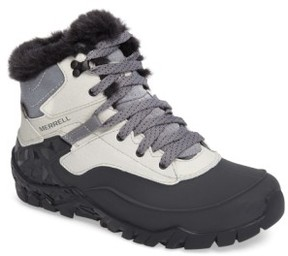 Merrell Women's Aurora 6 Waterproof Faux Fur Lined Boot