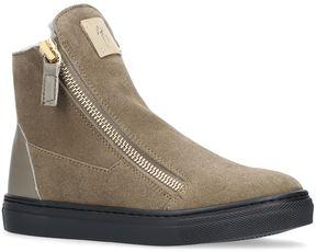 Giuseppe Zanotti Larry Double Zip Boots