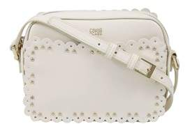 Class Roberto Cavalli White Small Shoulder Bag Leolace 002.