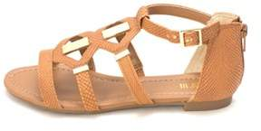 Bar III Womens Rodeo Open Toe Casual Gladiator Sandals.