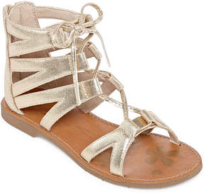 Arizona Mirth Girls Gladiator Sandals - Little Kids
