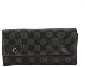 Louis Vuitton Damier Graphite Canvas 3 in1 Long Wallet - DAMIER GRAPHITE - STYLE