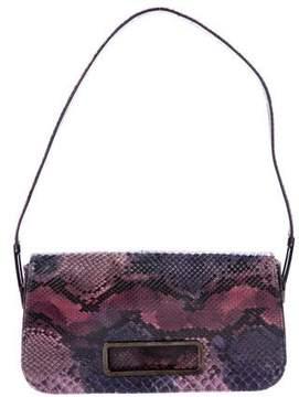 Stuart Weitzman Python Shoulder Bag