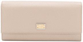 Dolce & Gabbana Dauphine wallet - NUDE & NEUTRALS - STYLE
