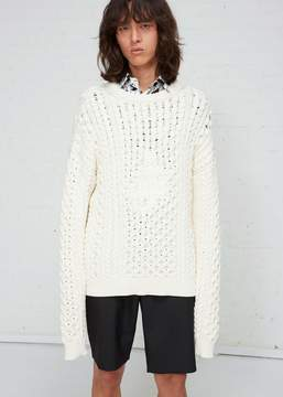 J.W.Anderson Embroidered Cable Jumper