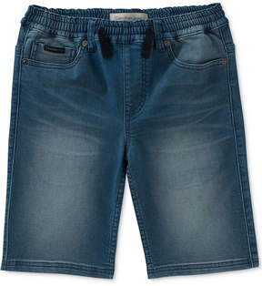 Calvin Klein Knit Denim Shorts, Big Boys (8-20)
