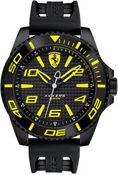 Ferrari Scuderia Men's Xx Kers Black Silicone Strap Watch 50mm 830307