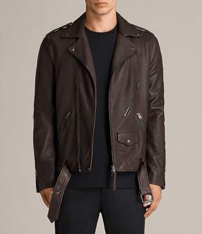 AllSaints Voltaire Leather Biker Jacket