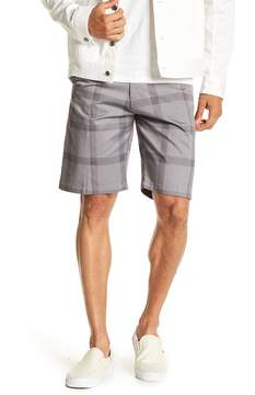 Burnside Plaid Chino Shorts